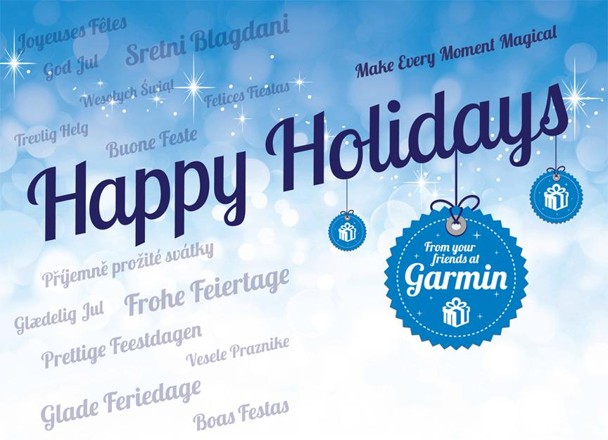 GARMIN Happy Holidays